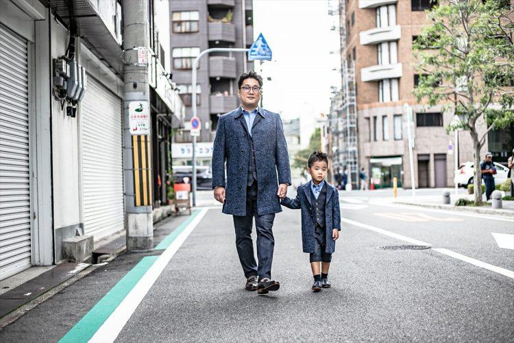 岡本親子卒園式ペアオーダー