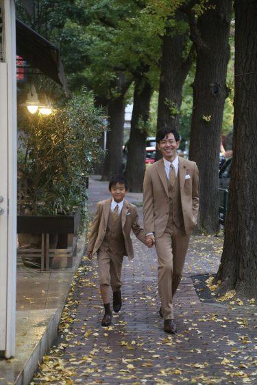 【紅葉の秋を満喫!】秋にぴったりの親子リンクコーデで家族との思い出と美しい景色を楽しもう