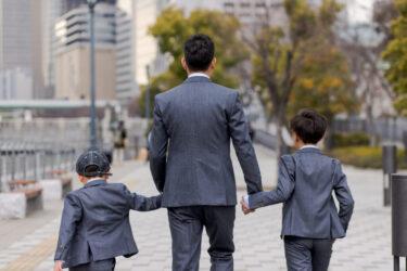 男の子とパパとの休日コーデはオーダーで!